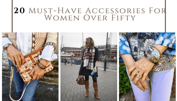 با 20 اکسسوری مورد نیاز برای خانمهای بالای 50 سال آشنا شوید