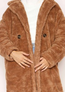 پالتوهای سبک تدی (Teddy Faux Fur Coat) از برند Missy Empire